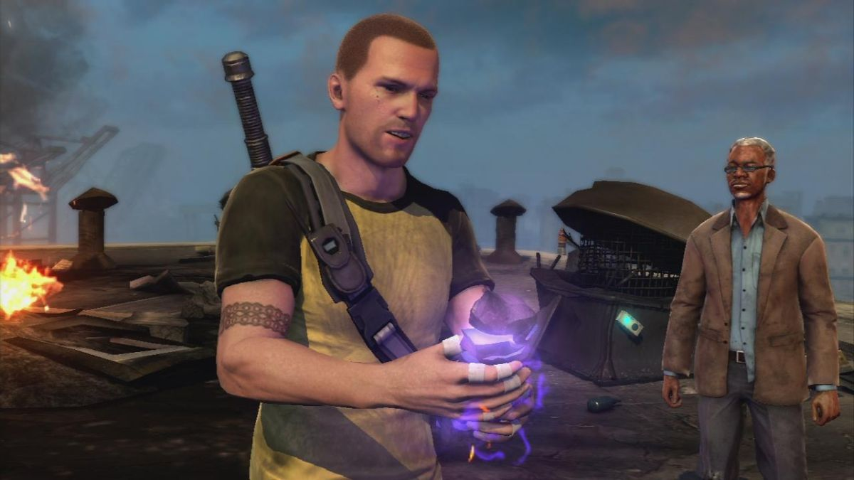 InFamous 2 Blast Shard and Dead Drops Map guide   GamesRadar+ on infamous blast shards, infamous ps3, infamous 2 all powers, dead island map, infamous 1 shard locations,