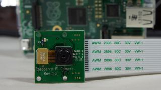 The Raspberry Pi camera board
