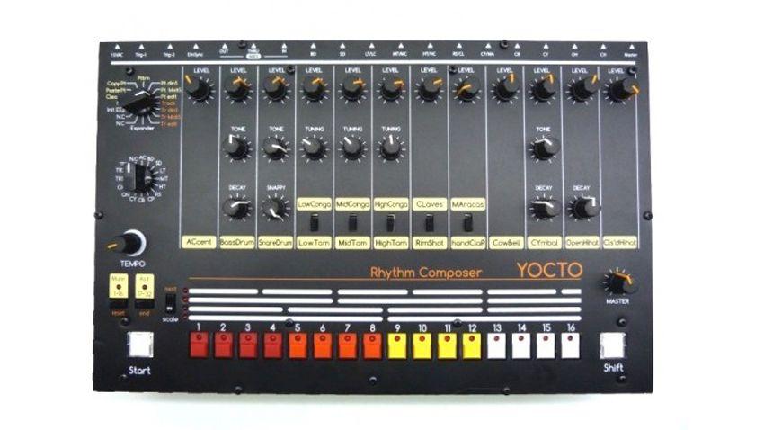 Roland Tr 808 Drum Machine Reborn As Diy Kit Yocto