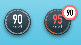 Waze speeding warning
