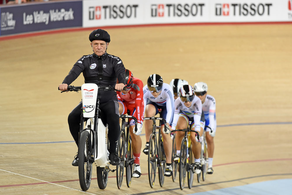 Race Track Wall Art >> Electric derny bike causes upset at Track World Cup - Cycling Weekly