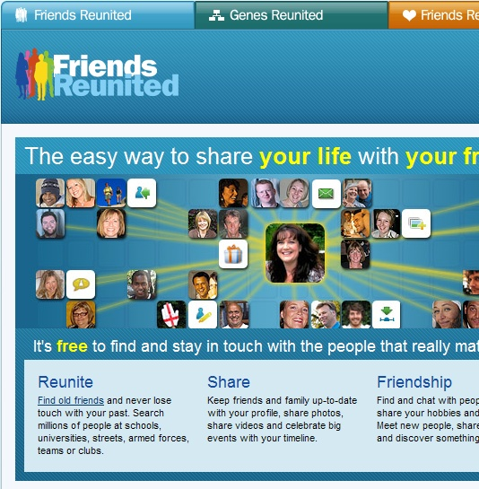 friends reunited search