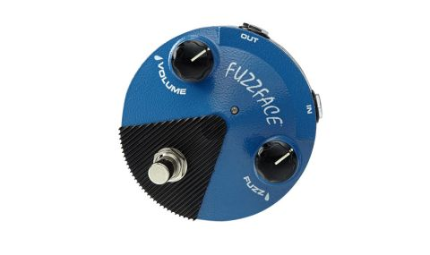 The Dunlop Mini FFM1 shrinks the footprint of the Fuzz Face and gives it a '70s focussed sound