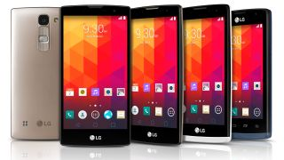 LG's new quartet of mobiles are selfie stick obsessed
