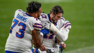 Josh Allen and the Buffalo Bills have been all smiles for most of the season, but still have something to play for heading into the postseason.