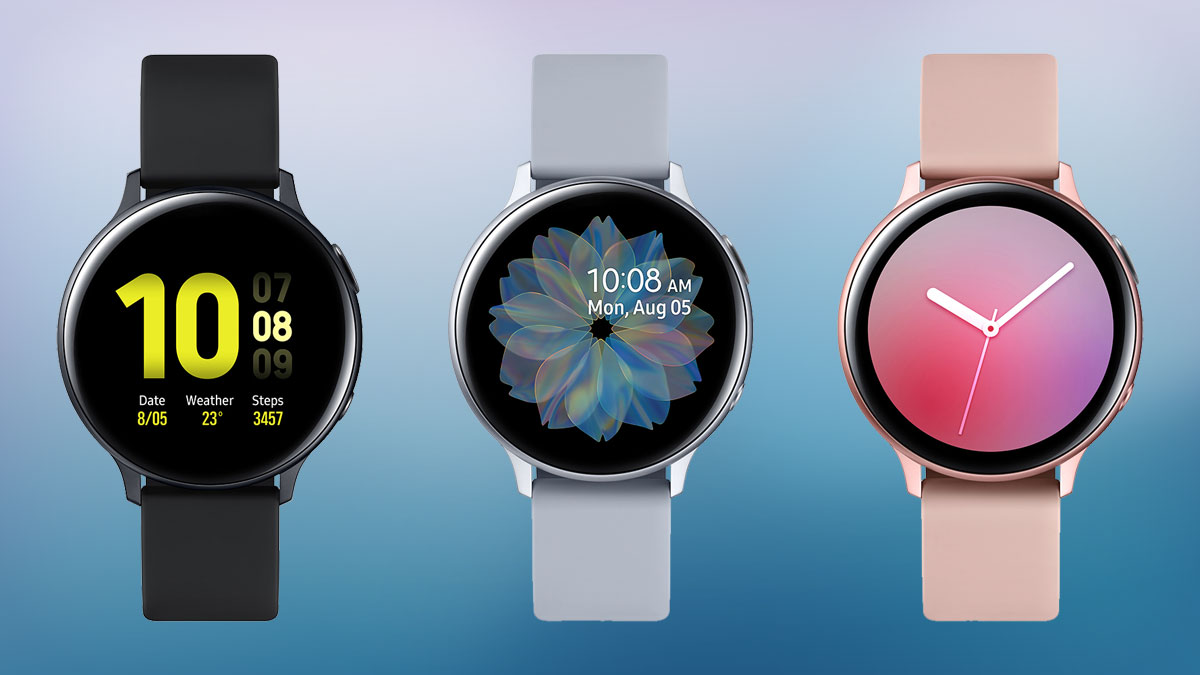 Samsung Galaxy Watch Active 2 has a rotating bezel that    doesn't