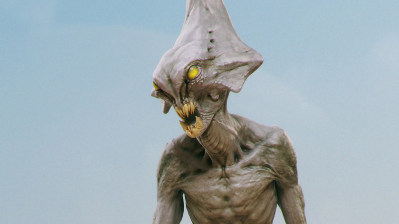 Create a realistic alien with ZBrush in 11 easy steps | Creative Bloq