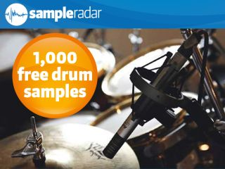 SampleRadar: 1,000 free drum samples | MusicRadar