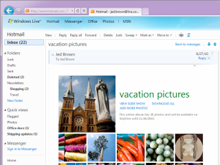 Hotmail gets features boost