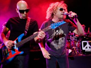 "Satch and Sammy Hagar bring the Foot's ""Road Test"" to TV"