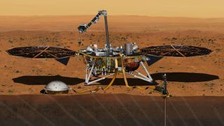 NASA Mars InSight mission lander