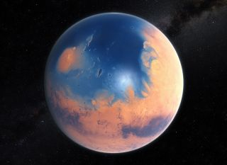 Early Mars Artist's Impression