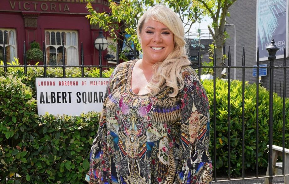EastEnders Letitia Dean aka Sharon Mitchell