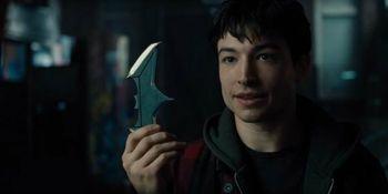 The Funny Batman Joke Justice League Cut Out, According To Ezra Miller