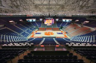 Littlejohn Coliseum at Clemson University Chooses Bose Professional RoomMatch® Loudspeakers