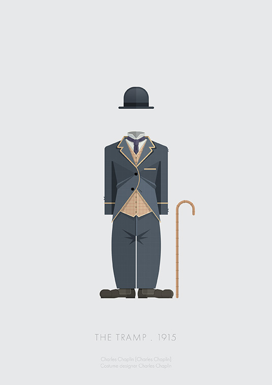 Movies made minimal in this costume collection