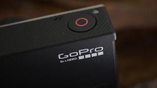 GoPro camera close-up
