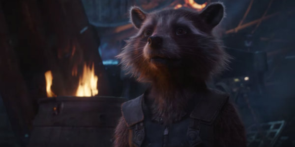 Rocket Raccoon Avengers Infinity War