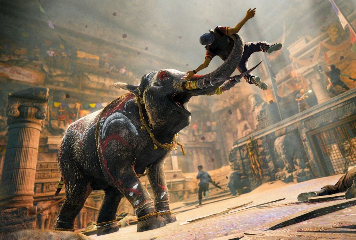 Killing With Elephants In Far Cry 4 Pc Gamer