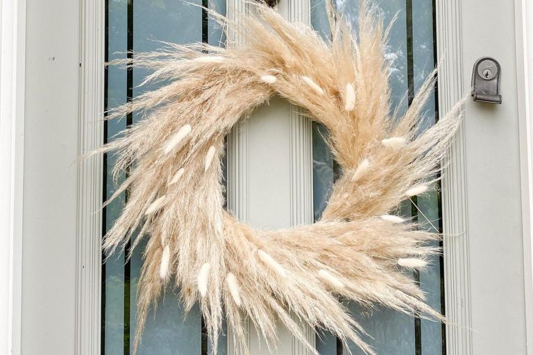 Etsy Pampas wreath