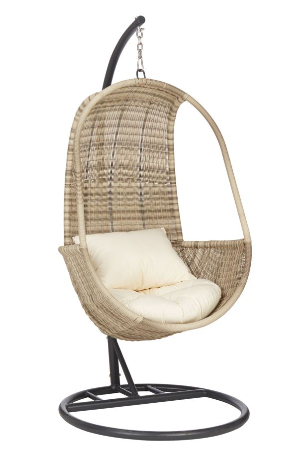 Rattan and Wicker Hanging Chairs For