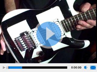 Satriani's Chickenfoot Ibanez JS1200