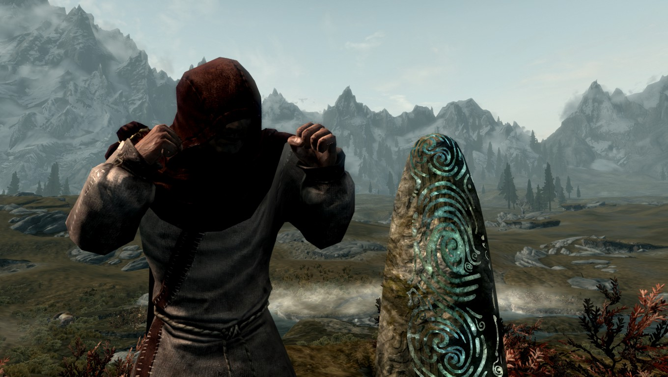 the best skyrim mods: way of the monk