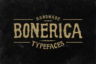 Font of the day: Bonerica
