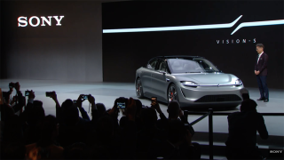 CES 2020: Sony unveils Vision-S electric car concept with 360 Reality Audio