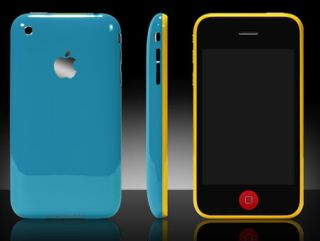 iPhone pimped up with a bit of slap, courtesy of ColorWare