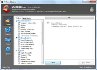 CCleaner 3 0 Gains a Drive Wiping Tool Better 64 bit Support