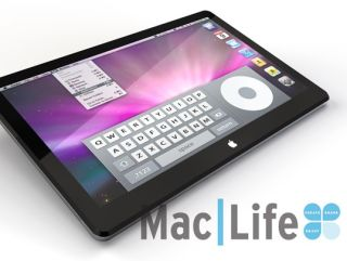 MacLife's mock-up of the iTablet
