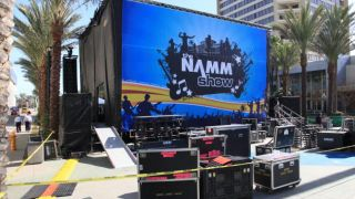 Load up the NAMM trucks - it'll soon be time to do it all again...