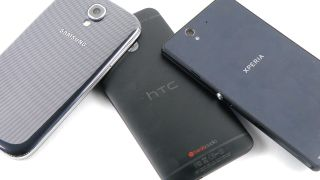 HTC One vs Samsung Galaxy S4 vs Sony Xperia Z