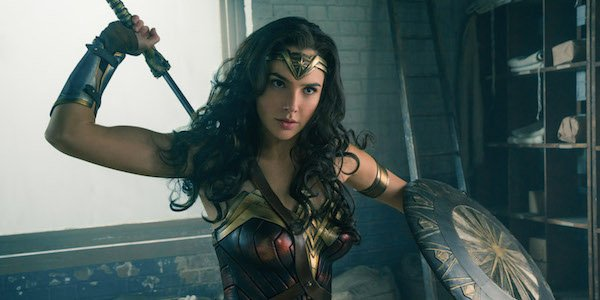 Gal Gadot as Diana of Themyscira in Wonder Woman