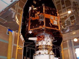 IMAGE spacecraft launch prep
