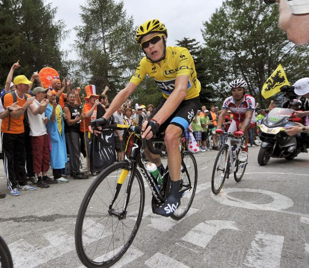 Chris Froome and Joaquim Rodriguez, Tour de France 2013, stage 18