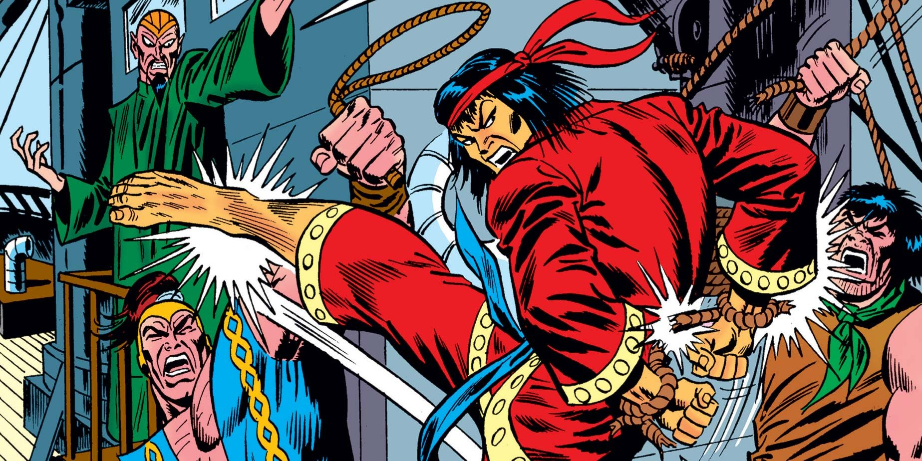 The Hands Of Shang-Chi, Master Of Kung Fu