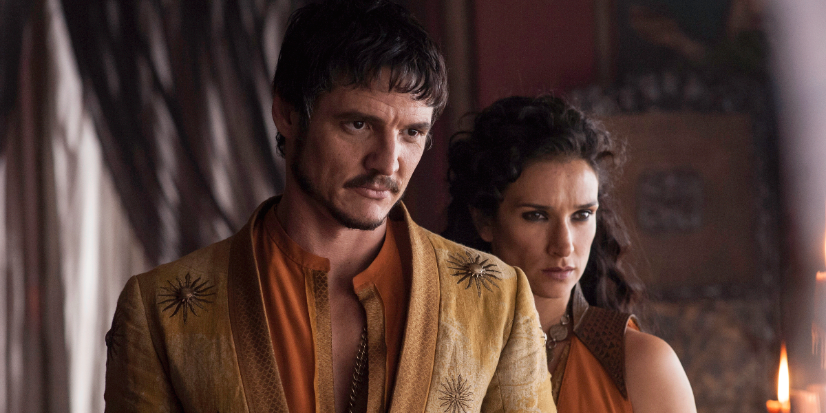 Game of Thrones Oberyn Martell Pedro Pascal Ellaria Sand Indira Varma HBO