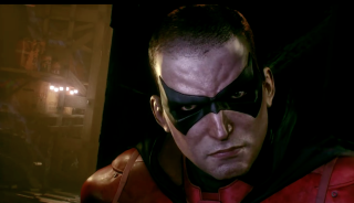 Arkham Knight Angle 7 Robin closeup