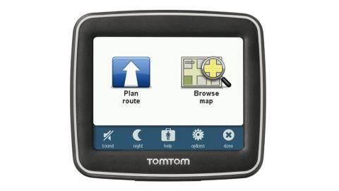 TomTom Start main menu