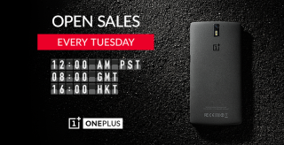 Now anyone can buy a OnePlus One every Tuesday