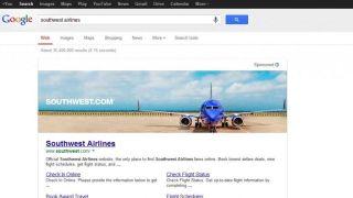 Google banner ad