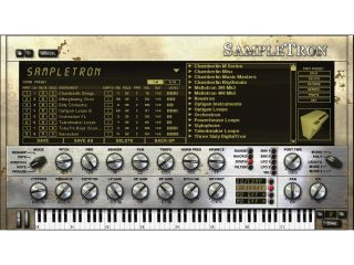 A total of 17 tape-based instruments are emulated in SampleTron.