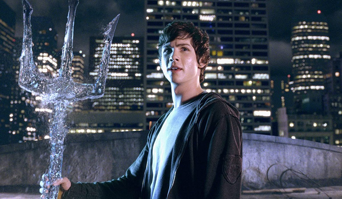 Logan Lerman as Percy Jackson in the Lightning Thief