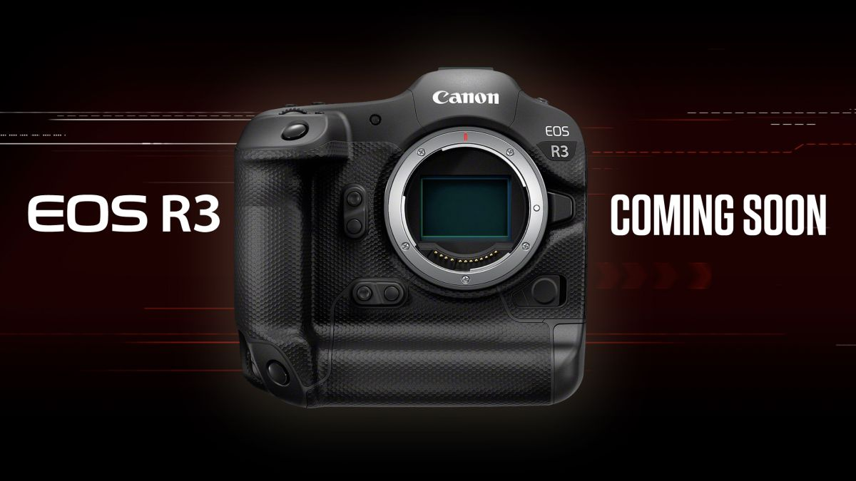 Canon EOS R3 announced: shoot at 30fps and move AF points with your EYES!