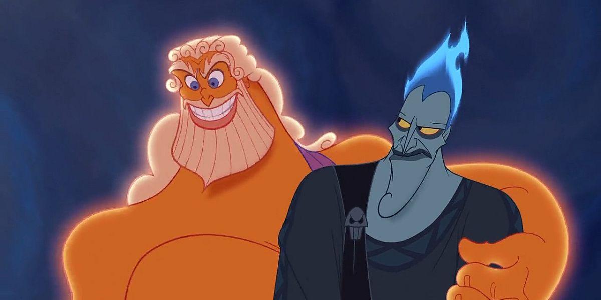 Zeus and Hades in Hercules