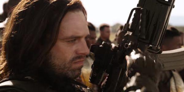 Sebastian Stan as the Winter Soldier in Avengers: Infinity War