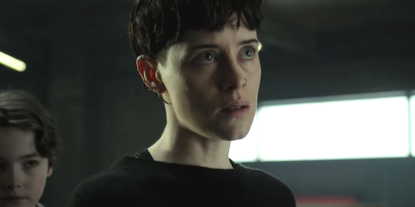 Claire Foy is Lisbeth Salander