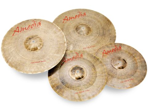 Each cymbal is hand-hammered on an anvil at least 5000 times